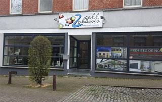 showroom 2 Call Châssis à Charleroi