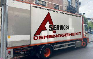camions de déménagement A. Services