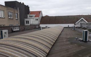 système HVAC sur toiture
