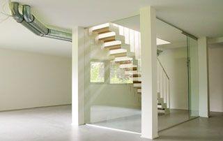 escaliers modernes intérieurs