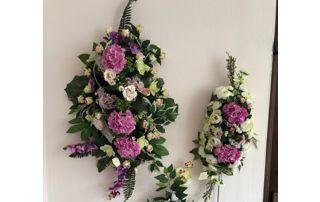 composition florales pour enterrement