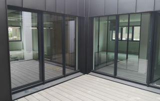 Porte fenêtres en aluminium