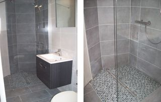 aménagement douche italienne