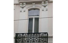 peinture murs balcon