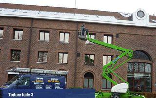 réalisation toiture en tuiles