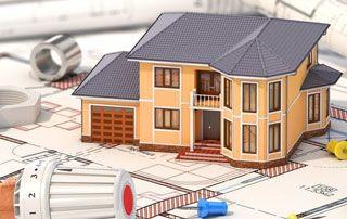 maquette maison chauffage