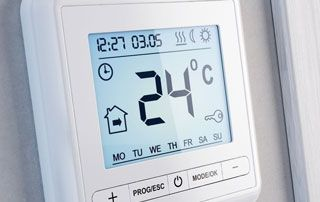 thermostat d'ambiance pour chauffage central