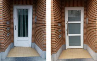 remplacement de porte extérieure