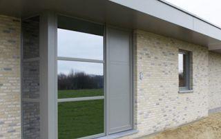 maison avec profilés en PVC