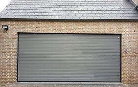 porte de garage sectionnelle Bruxelles