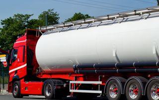 Camion de vidange de fosse septique
