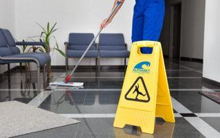 Nettoyage sols bureaux