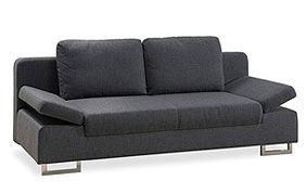 canapé 2 places pieds en métal