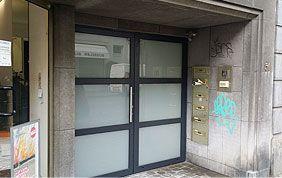 porte extérieure vitrée