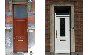 2 modèles de portes extérieures