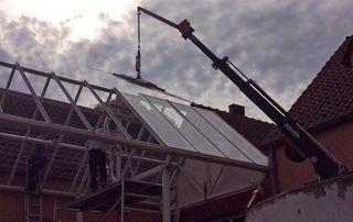 placement toiture vitrée