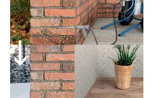 assèchement mur humide