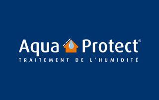 logo Aqua Protect traitement de l'humidité en Brabant wallon