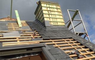 travaux de toiture à Waterloo