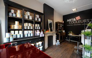 magasin de peinture