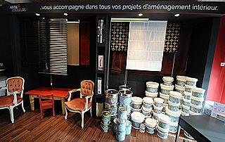 show room stores et peintures