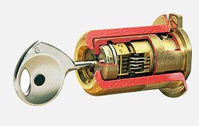 nouvelle serrure avec clé