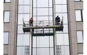 machine de descente pour le nettoyage de vitre