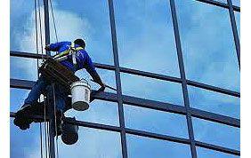 nettoyeur de vitre suspendu