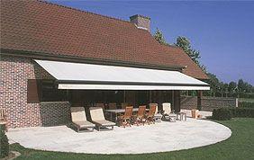 banne solaire de terrasse
