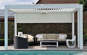 toiture de terrasse avec store