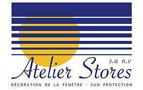 logo Atelier Stores spécialiste en décoration de fenêtre à Bruxelles