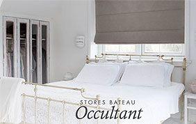 Stores occultants chambre à coucher