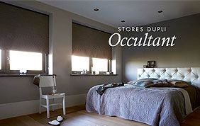 stores occultants chambre