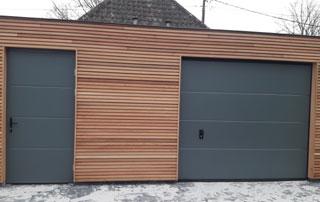 portes de garage dans le Hainaut