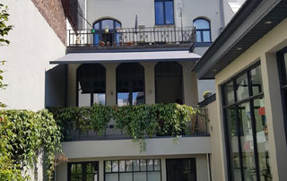 petite protection de terrasse