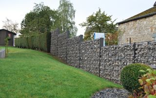 Mur en grabions