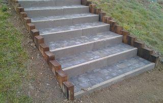 Création d'escalier extérieur