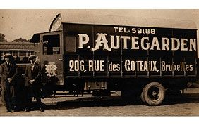 camion ancien Autegarden