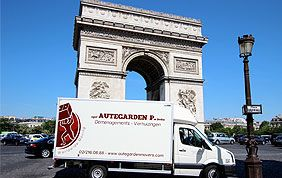 camion de déménagement à l'international