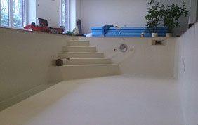piscine intérieure vide