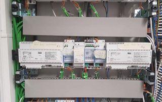 Panneau électrique système de surveillance