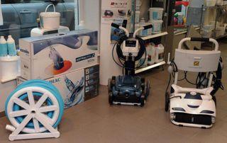 robots nettoyeurs pour piscine