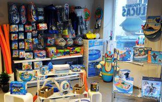 magasin de jeux aquatiques