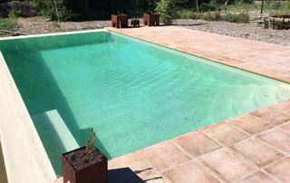 piscine enterrée béton