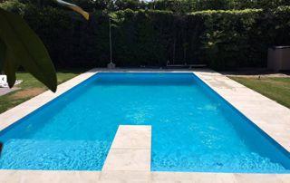 piscine avec plongeoir