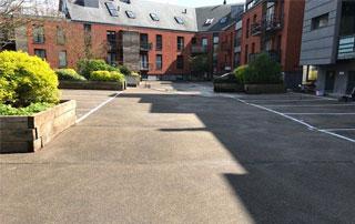 nettoyage de parking en Brabant wallon