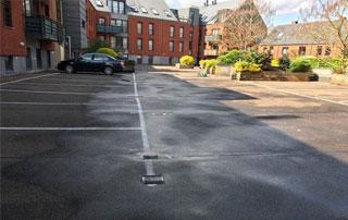 nettoyage de sol parking