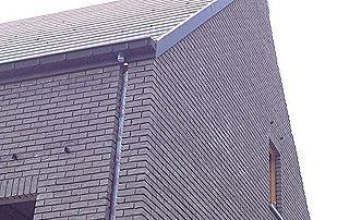 Maison en briques et toiture