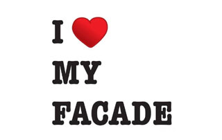 slogan I love My Façade