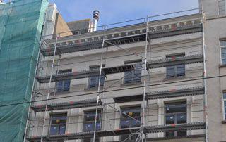 façade après travaux peinture